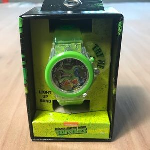 Teenage Mutant Ninja Turtles Boys Watch Light Up
